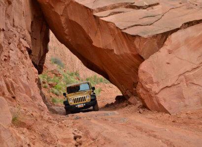 Utah Multi-Day Hiking & Jeep Tour