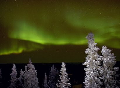 Aurora Borealis Viewing at Bettles Lodge
