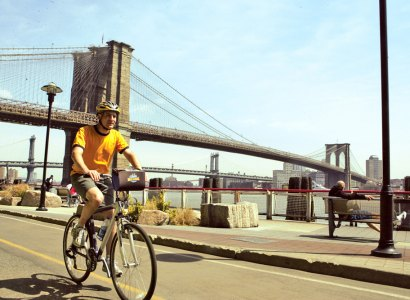 Guided Bike Tour of the Brooklyn Bridge, New York
