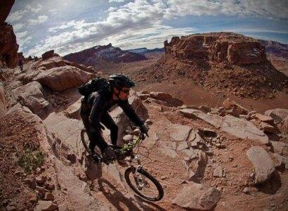 Guided Mountain Biking Tour in Moab