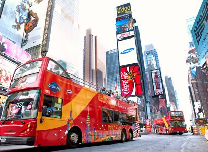 New York Hop-on Hop-off Bus Tour
