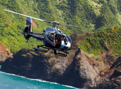Kauai Helicopter Sightseeing, Hawaii