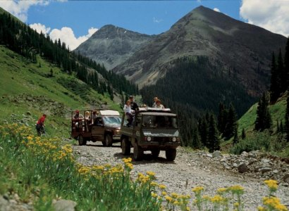 Silverton Ghost Town Jeep Half Day Tour