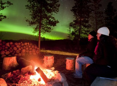 Aurora Borealis Night Tour from Whitehorse