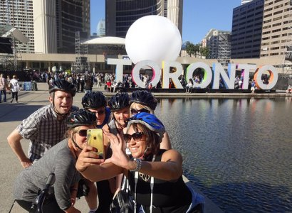 Heart of Downtown Toronto Bicycle Tour