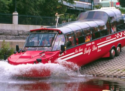 Amphibious - Land & Water Sightseeing Tour