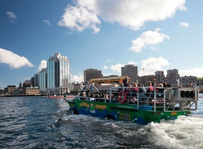 Halifax Harbour Hopper Tour, Nova Scotia