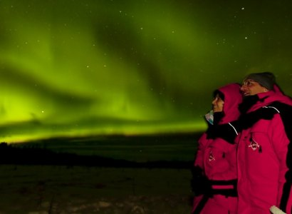 Aurora Borealis Night Tour from Whitehorse, Yukon