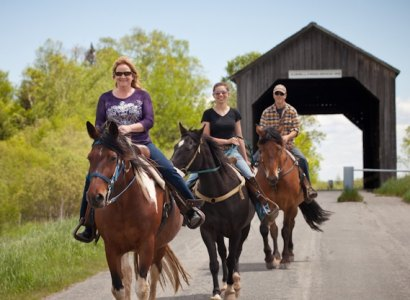 Horseback Riding, Fundy National Park, New Brunswick
