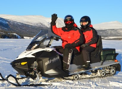 Full & Half Day Snowmobiling from Whitehorse, Yukon