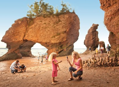 Hopewell Rocks & Bay of Fundy Coastal Tour