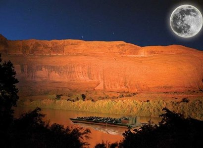 Canyonlands Dinner Cruise with Sound and Light Show from Moab