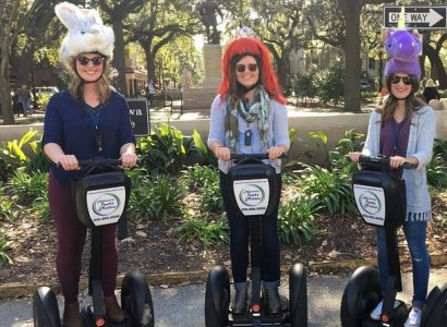 Segway Movie Tour of Savannah