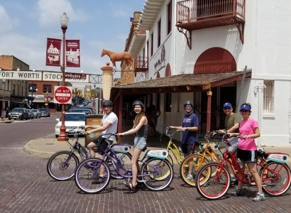 Stockyards Electric Bike Guided Tour