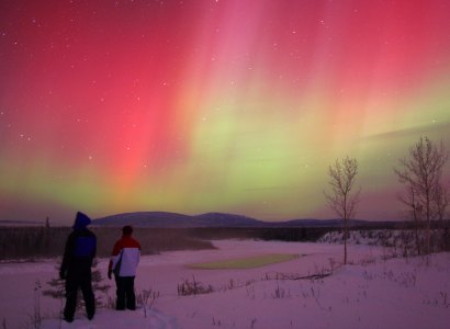 Mini Aurora Borealis Packages from Dawson City
