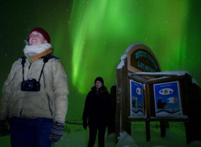 Aurora Borealis Night Tour from Whitehorse