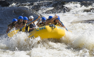 Take on the Canadian Rapids