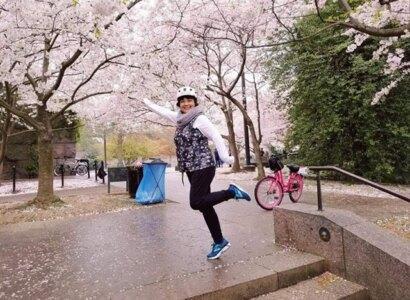 Cherry Blossom Bike Tour from Alexandria