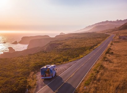 Route 66 & Highway 1 by Motorhome