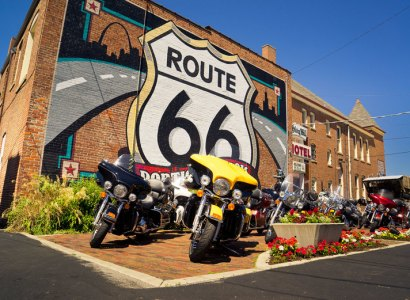 Route 66 (Chicago-LA) - Guided Motorcycle Tour