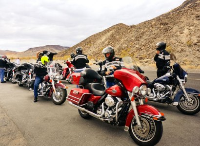 Discover The Wild West (Las Vegas - LA) - Guided Motorcycle Tour